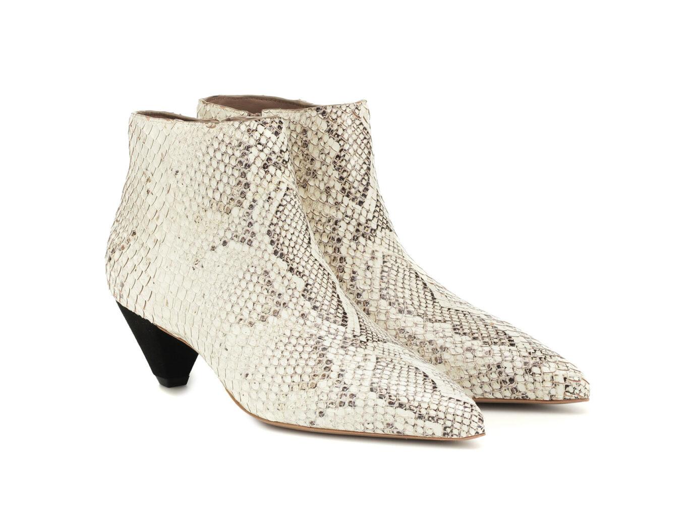 Mercedes Castillo Julienne leather Ankle Boots