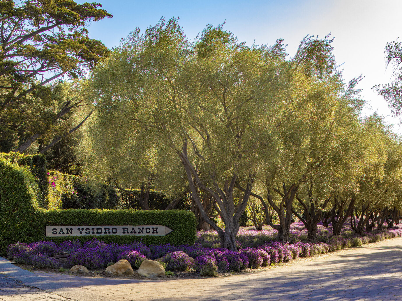 Entrance to San Ysidro Ranch