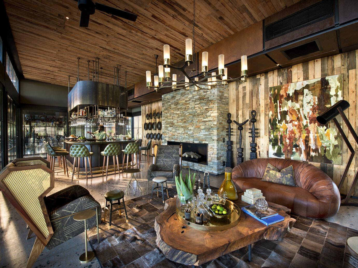 Bar at andBeyond Tengile