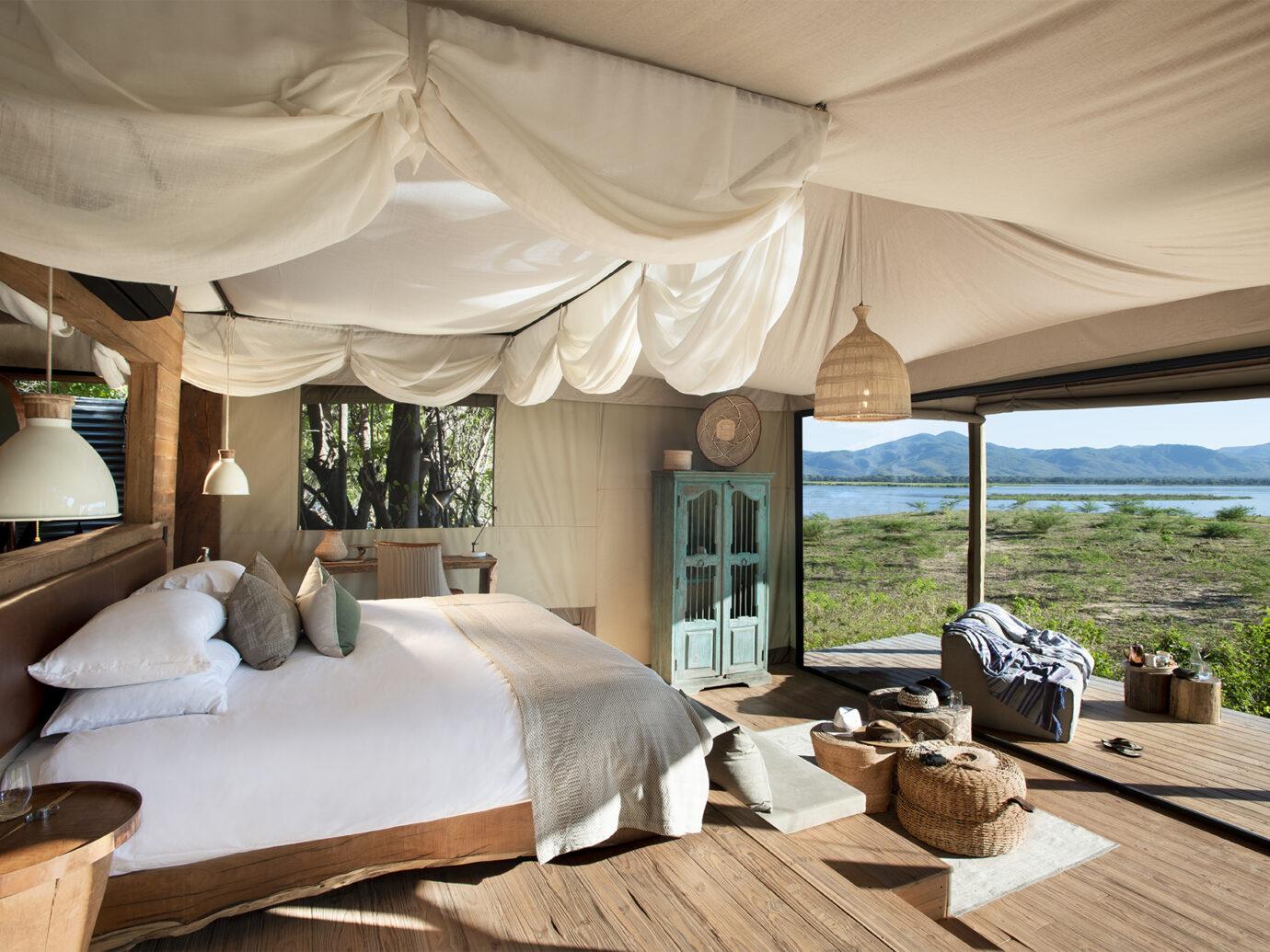 Bedroom at Nyamatusi Camp