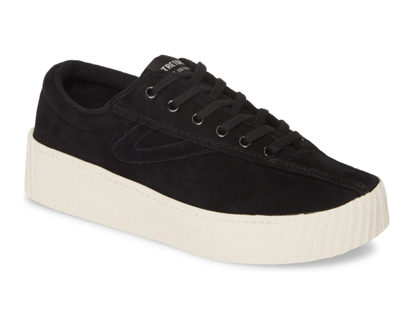 Tretorn Bold Perforated Platform Sneaker