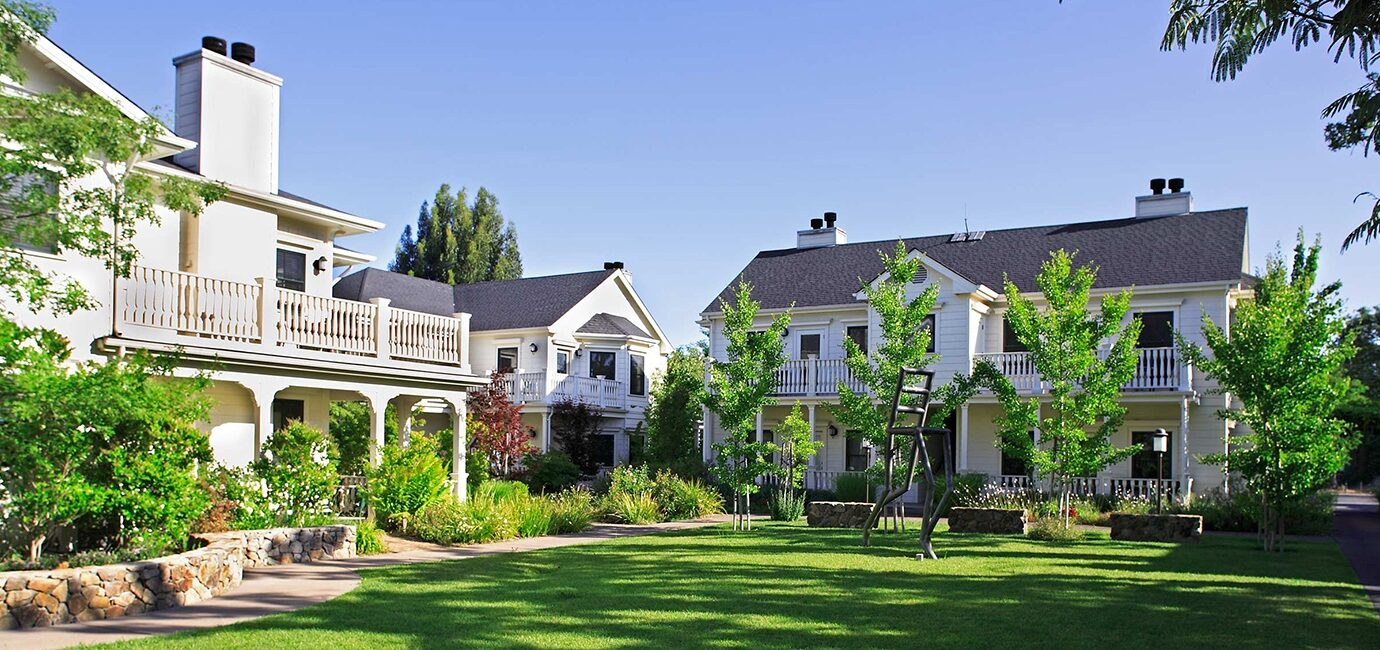 Exterior of MacArthur Place in Sonoma