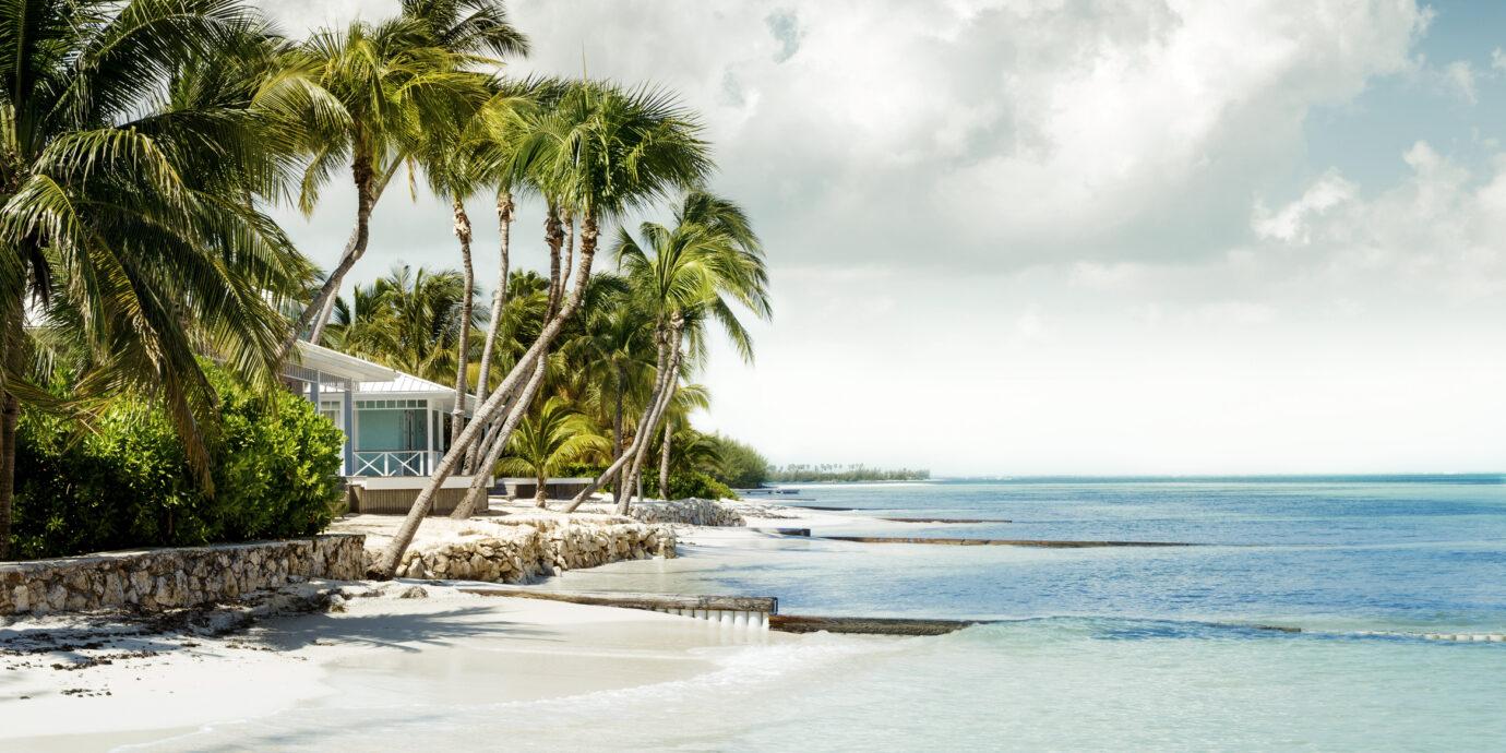 Panorama of paradise beach - Cayman Islands