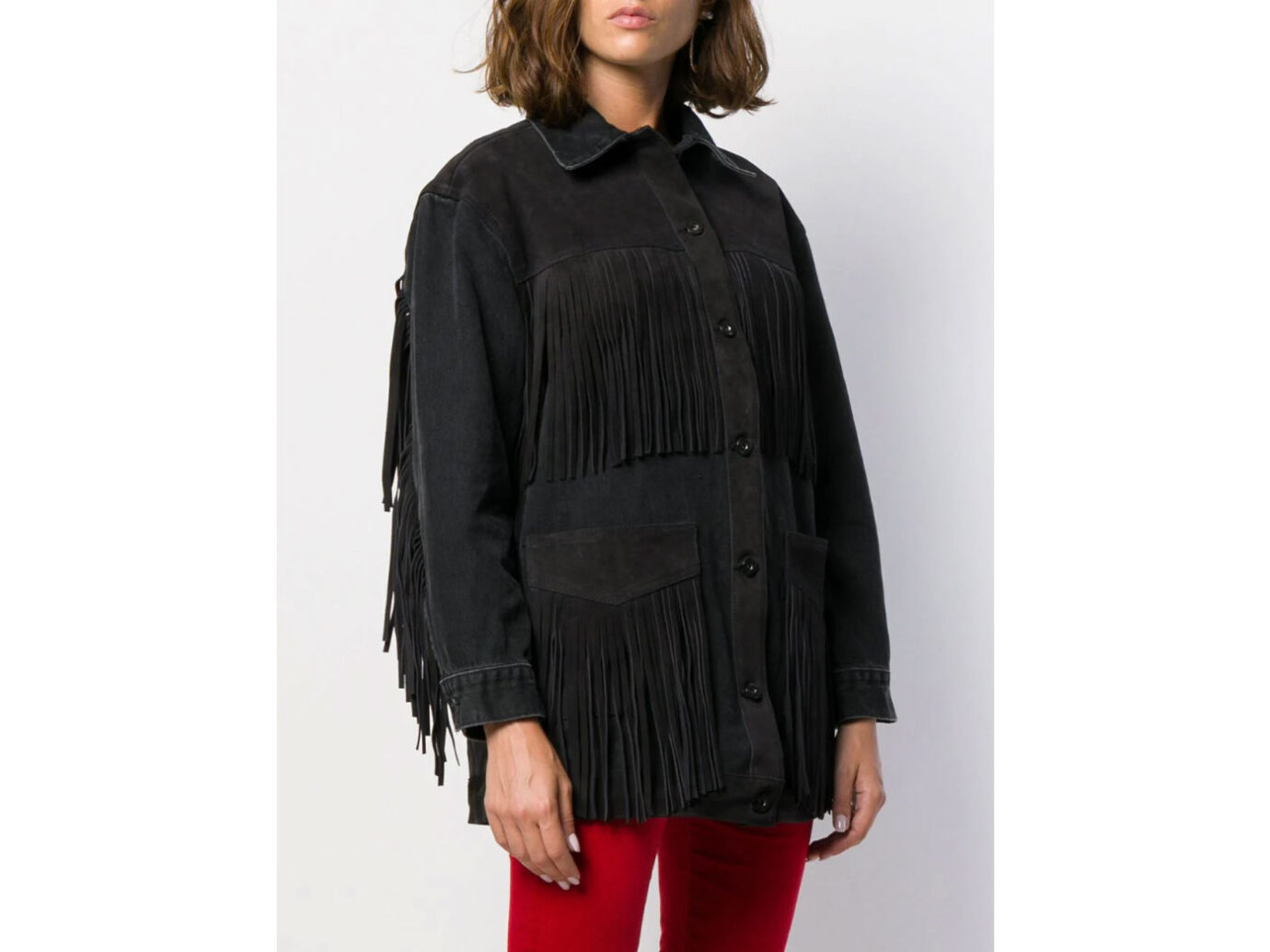 Levi's Made & Crafted loose-fit fringed jacket