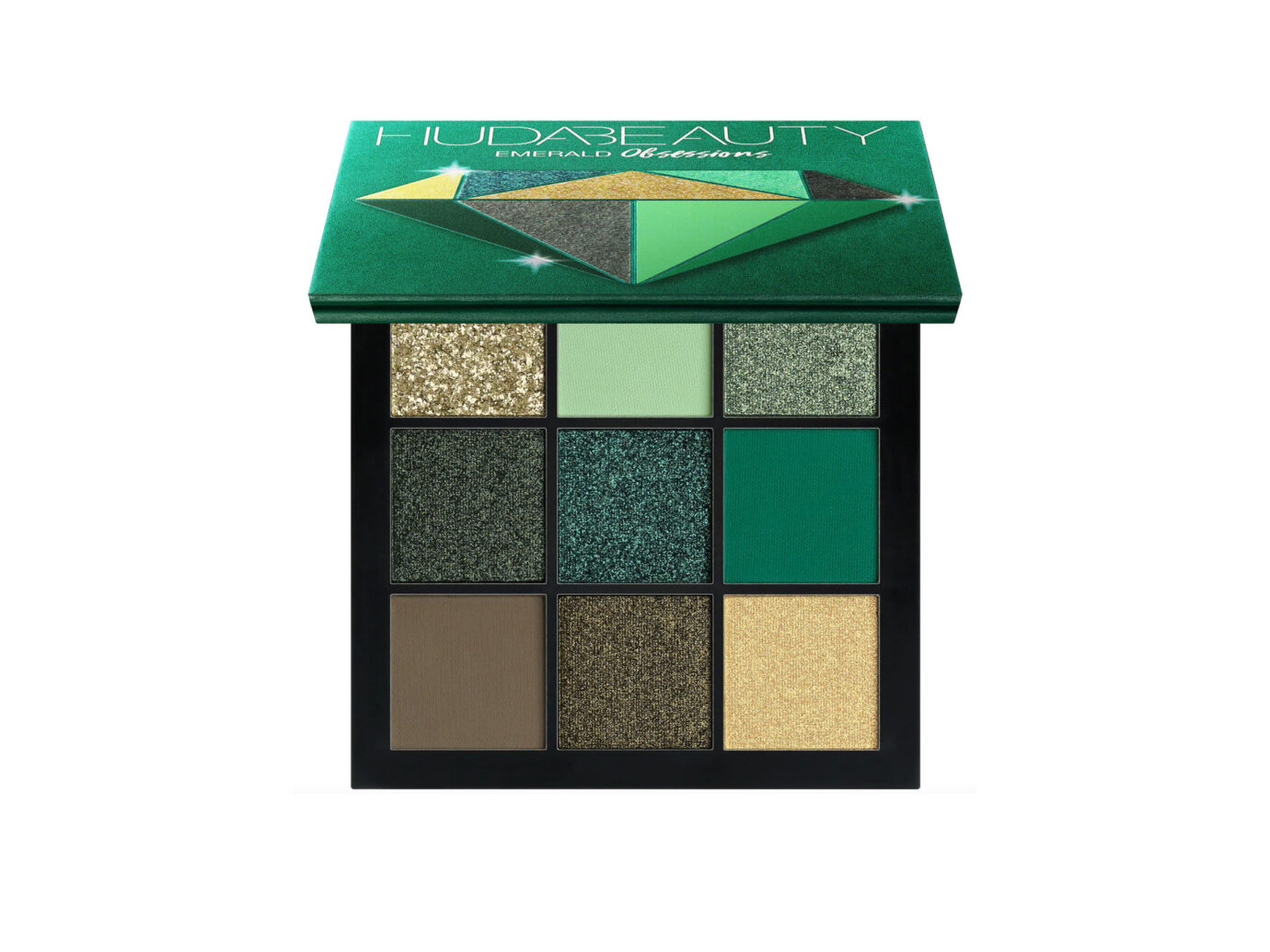 Huda Beauty Obsessions Eyeshadow Palette: Emerald