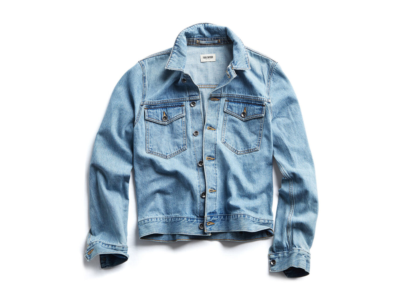 Todd Snyder Japanese Stretch Selvage Denim Jacket