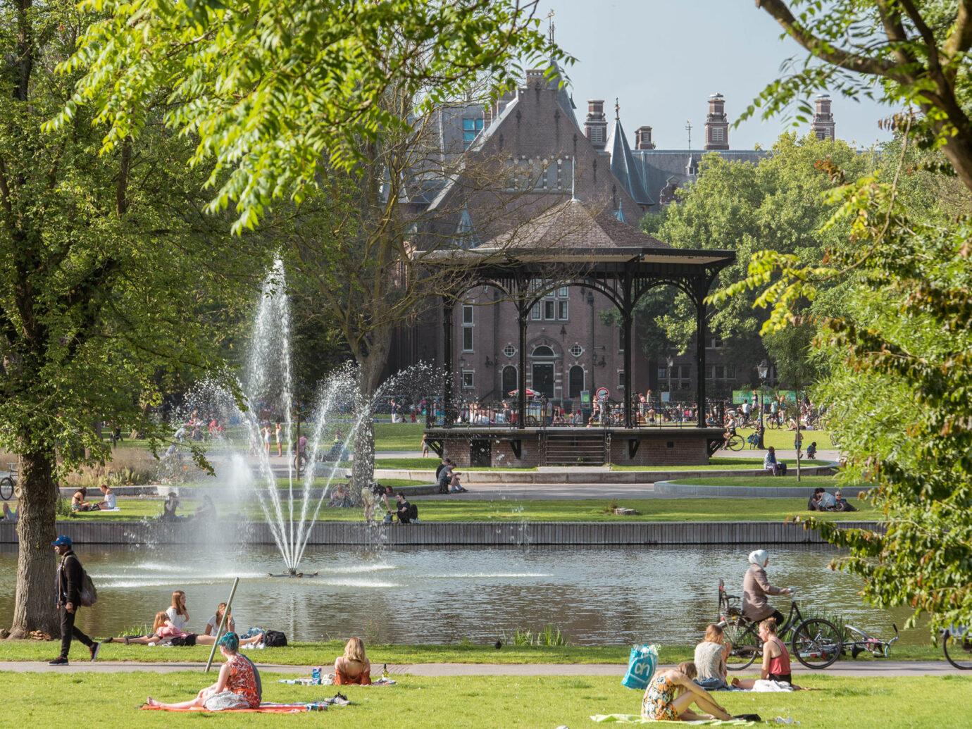 Oosterpark, amsterdam