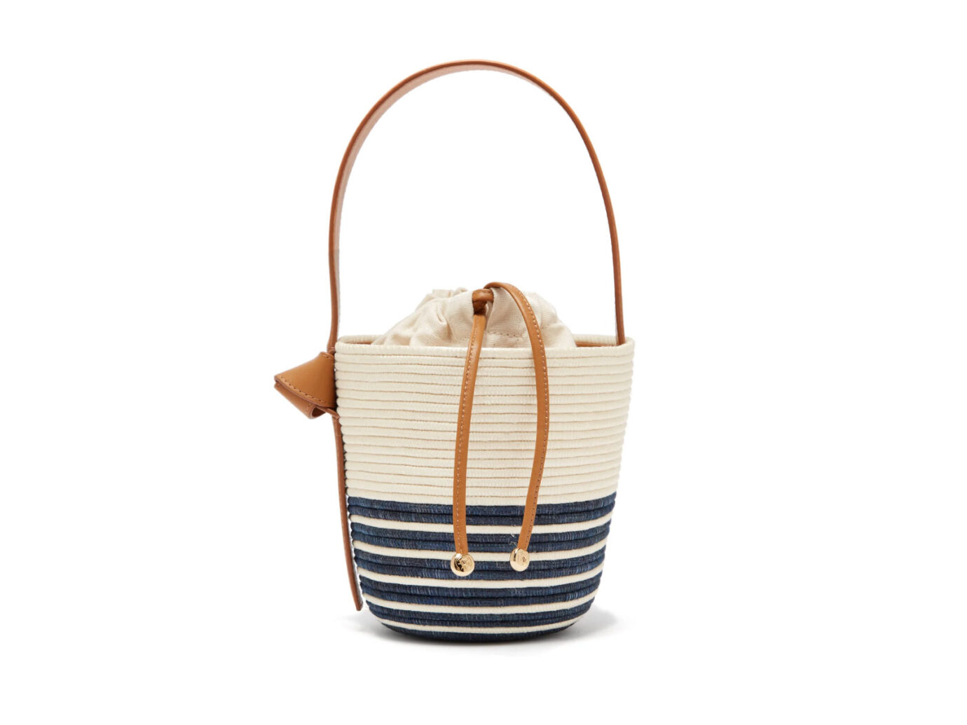 Cesta Collective Half Breton Sisal Basket Bag
