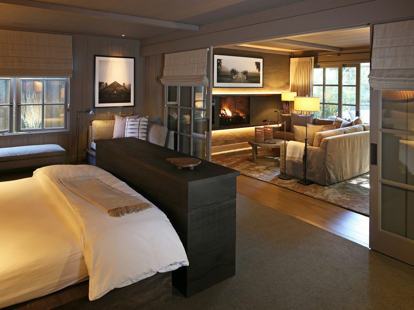 Bedroom at Meadowood Napa Valley