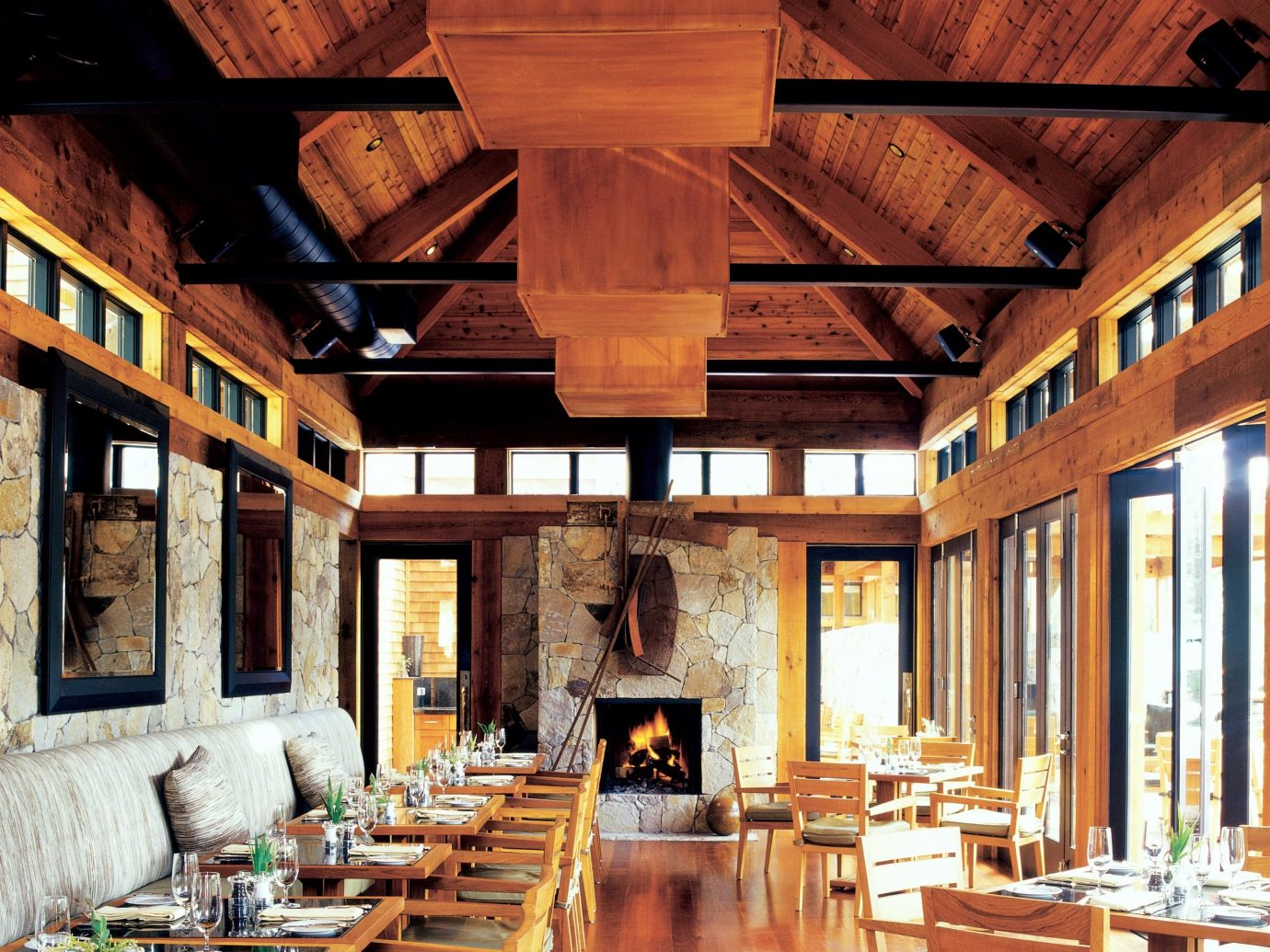 Dining room at Calistoga Ranch
