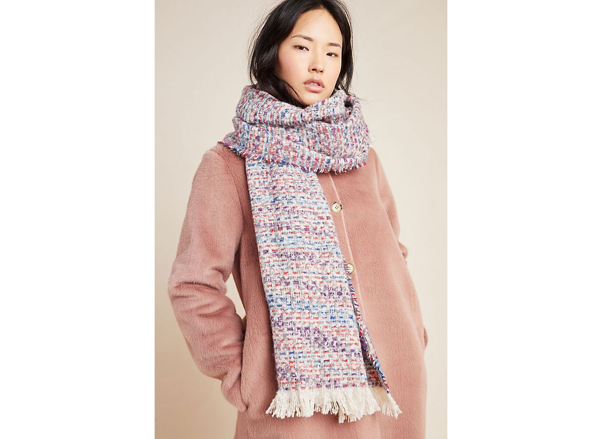 Anthropologie Innsbruck Blanket Scarf