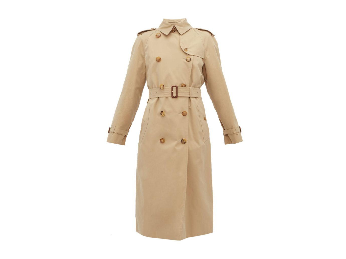 Burberry Waterloo cotton-gabardine trench coat