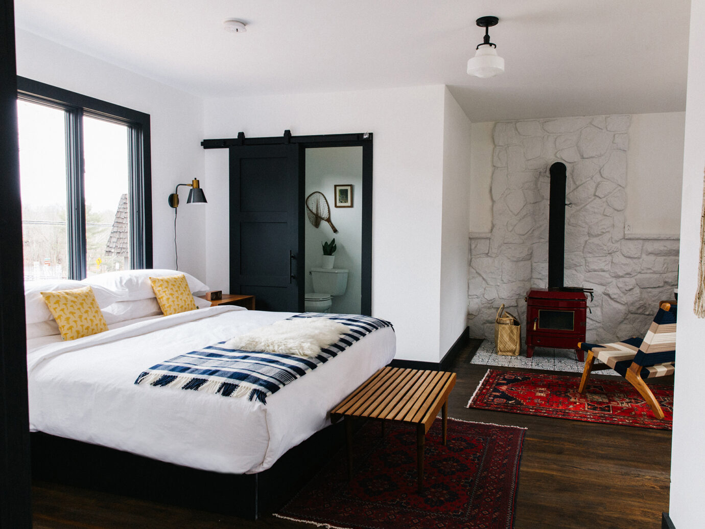 Bedroom at Eastwind Hotel