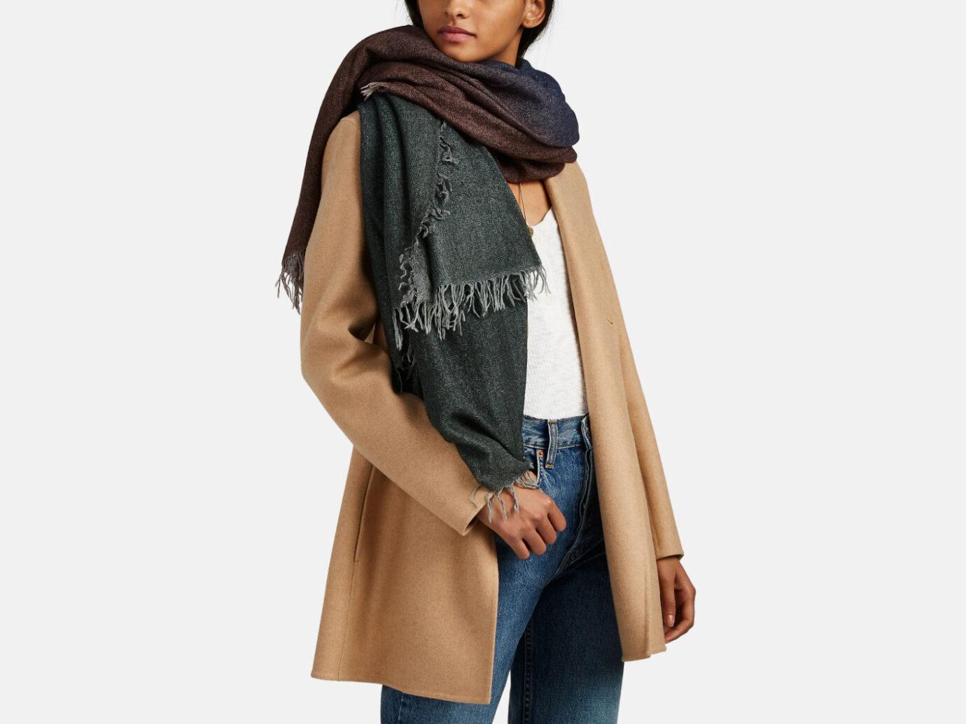 Faliero Sarto cashmere-blend scarf