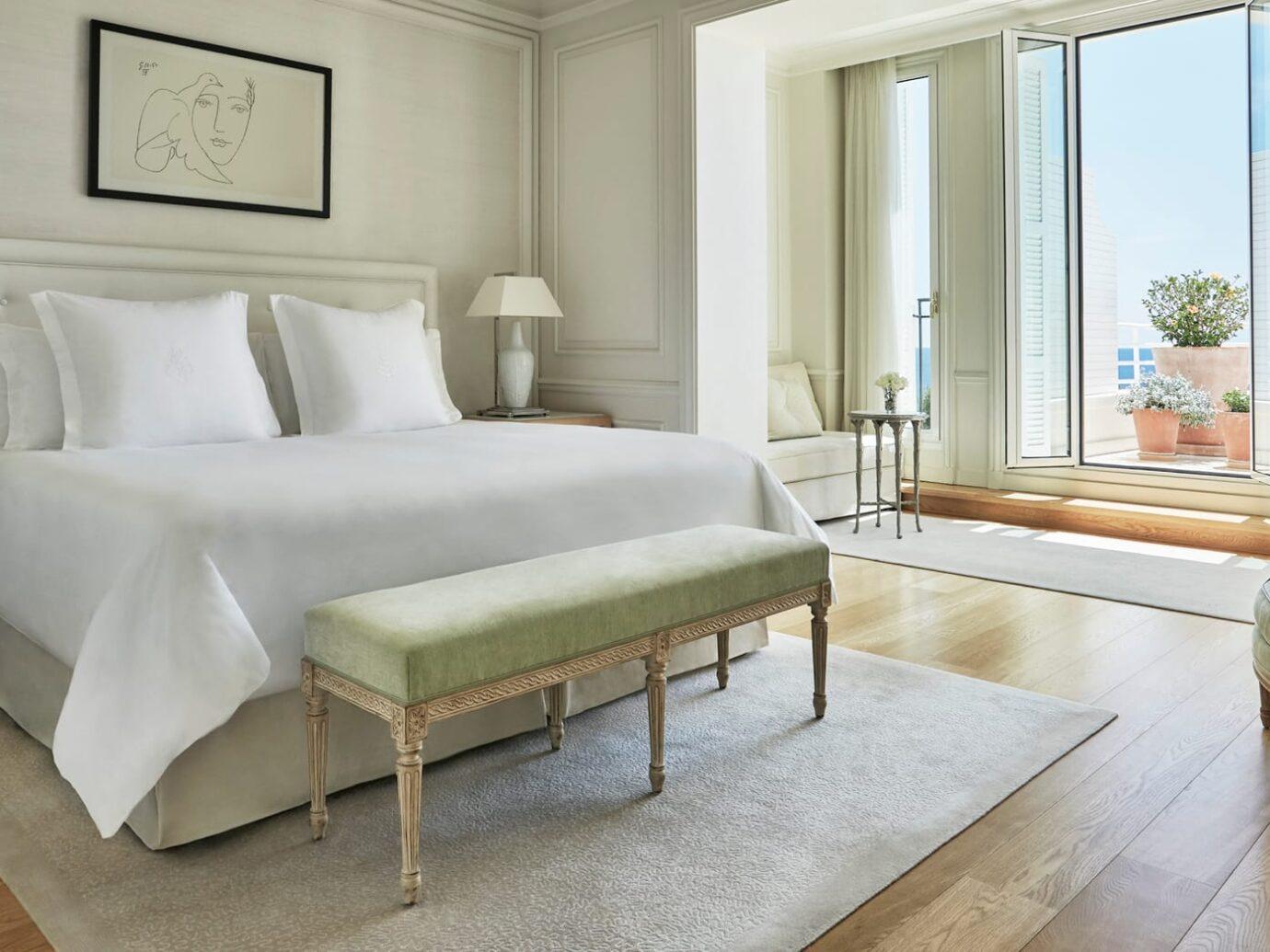 Bedroom at Grand-Hôtel du Cap-Ferrat