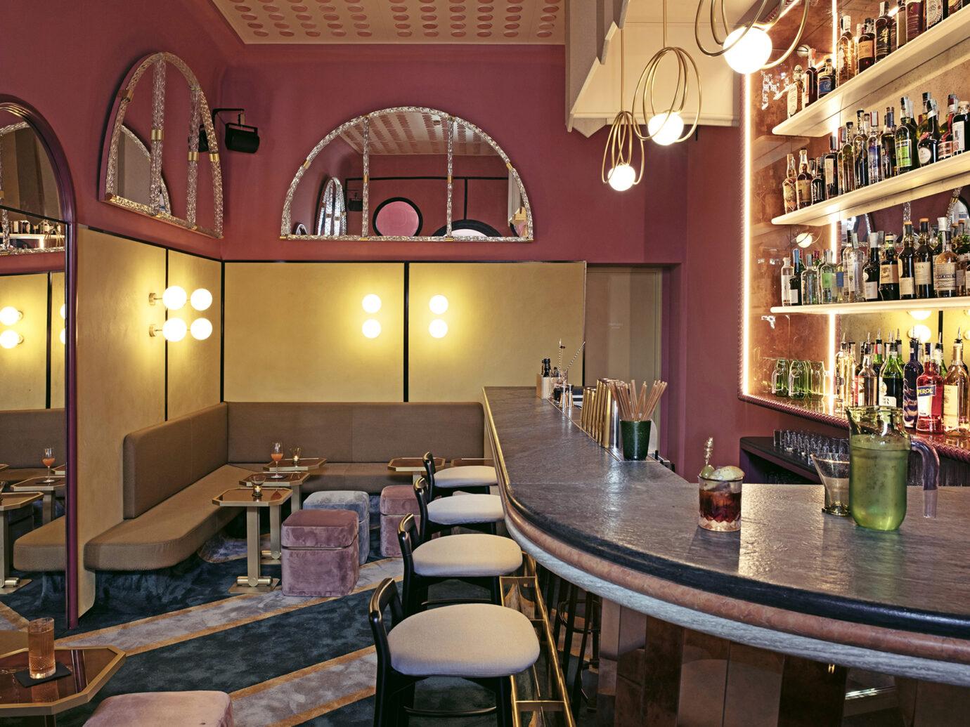 Bar at Il Palazzo Experimentale