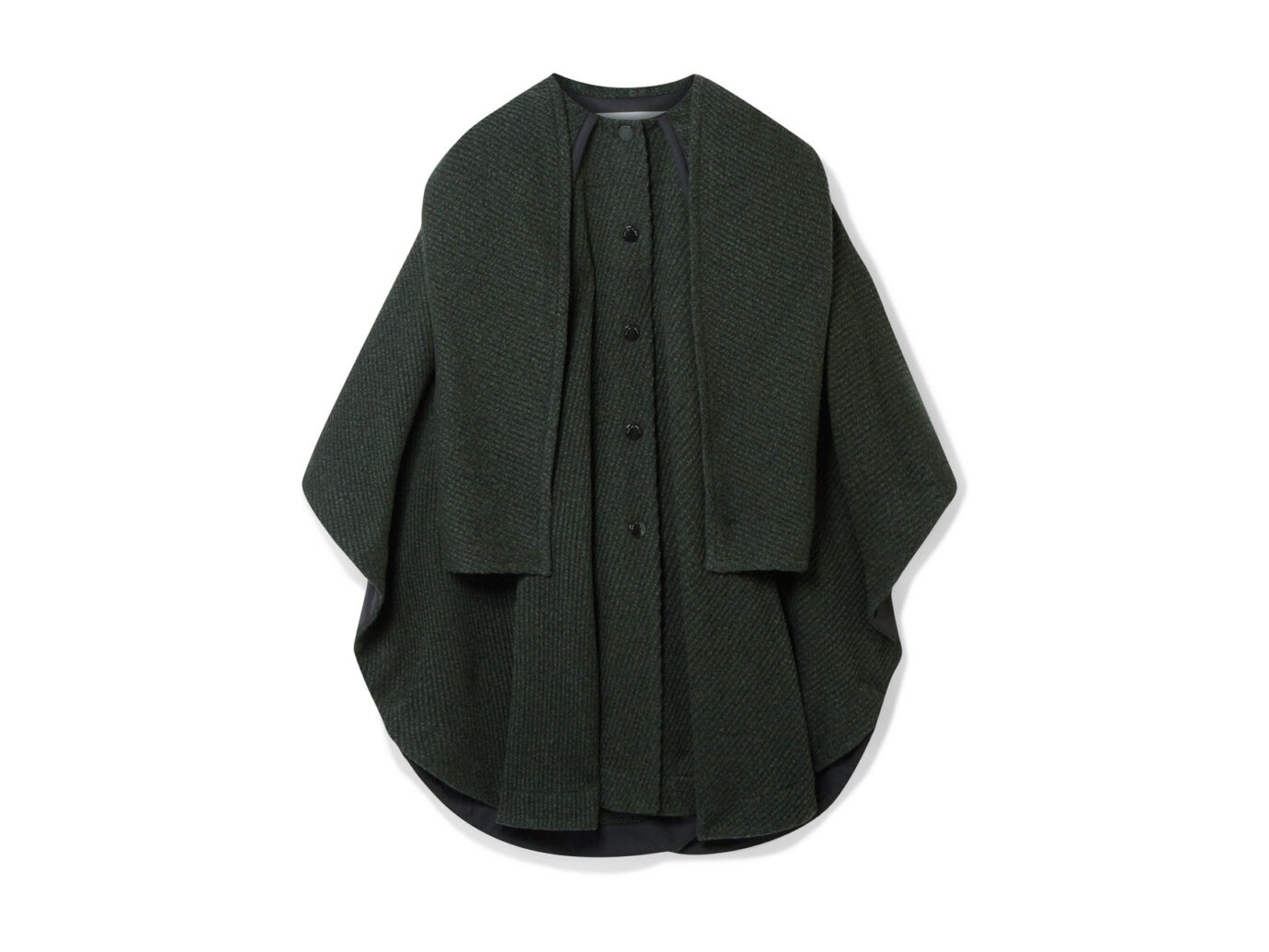 See by Chloé Oversized Cape-Effect Coa