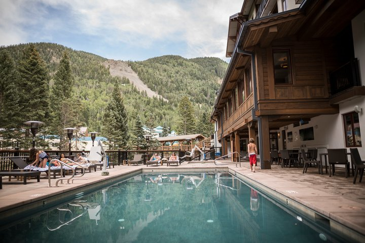 Pool at The Blake in Taos New Mexico