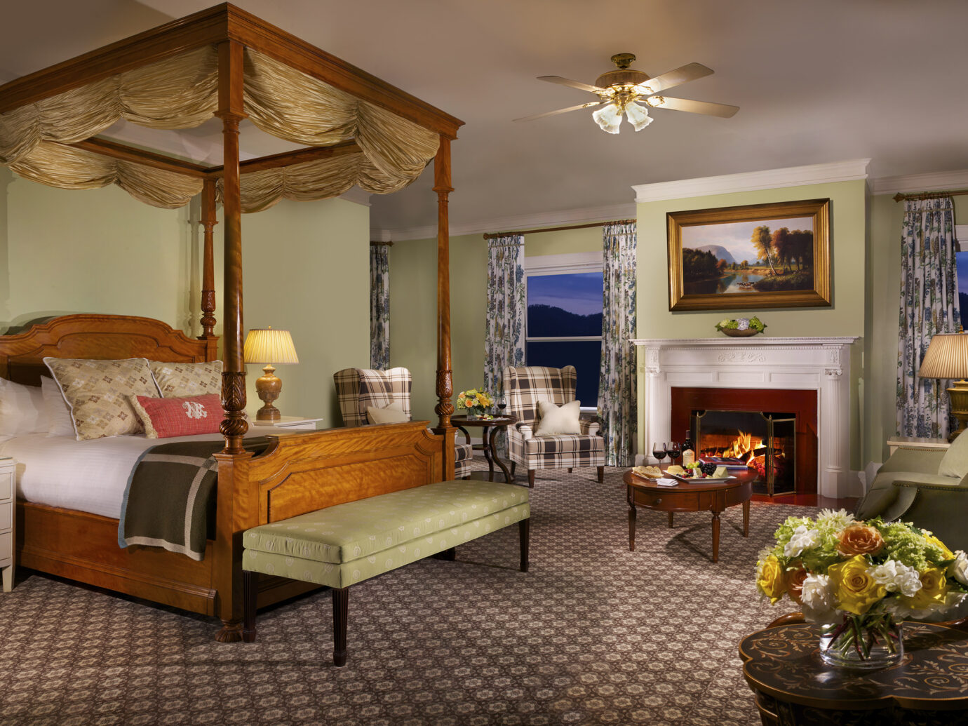 Bedroom at Omni Mount Washington Resort, Bretton Woods, NH