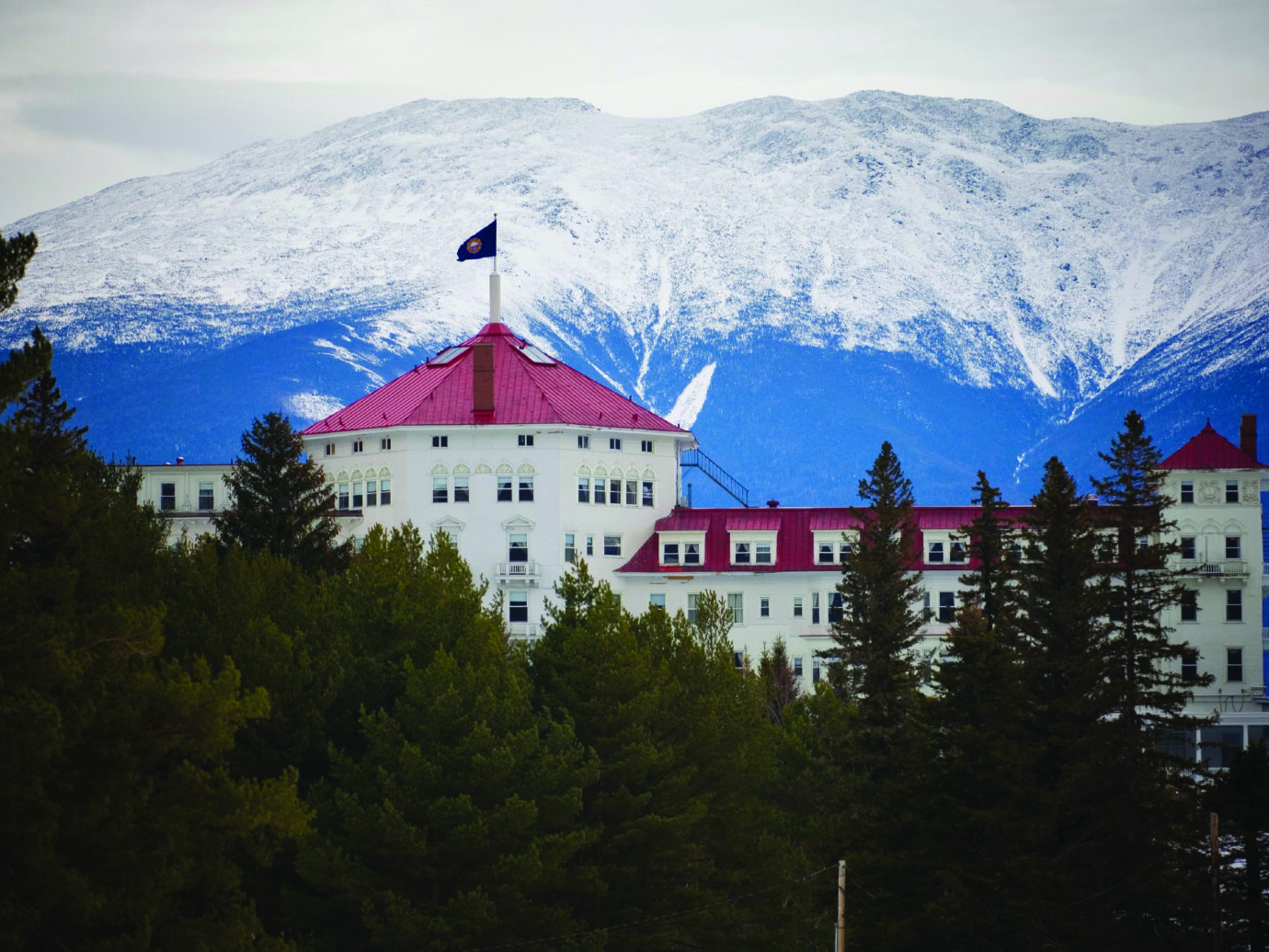 Exterior of Omni Mount Washington Resort, Bretton Woods, NH
