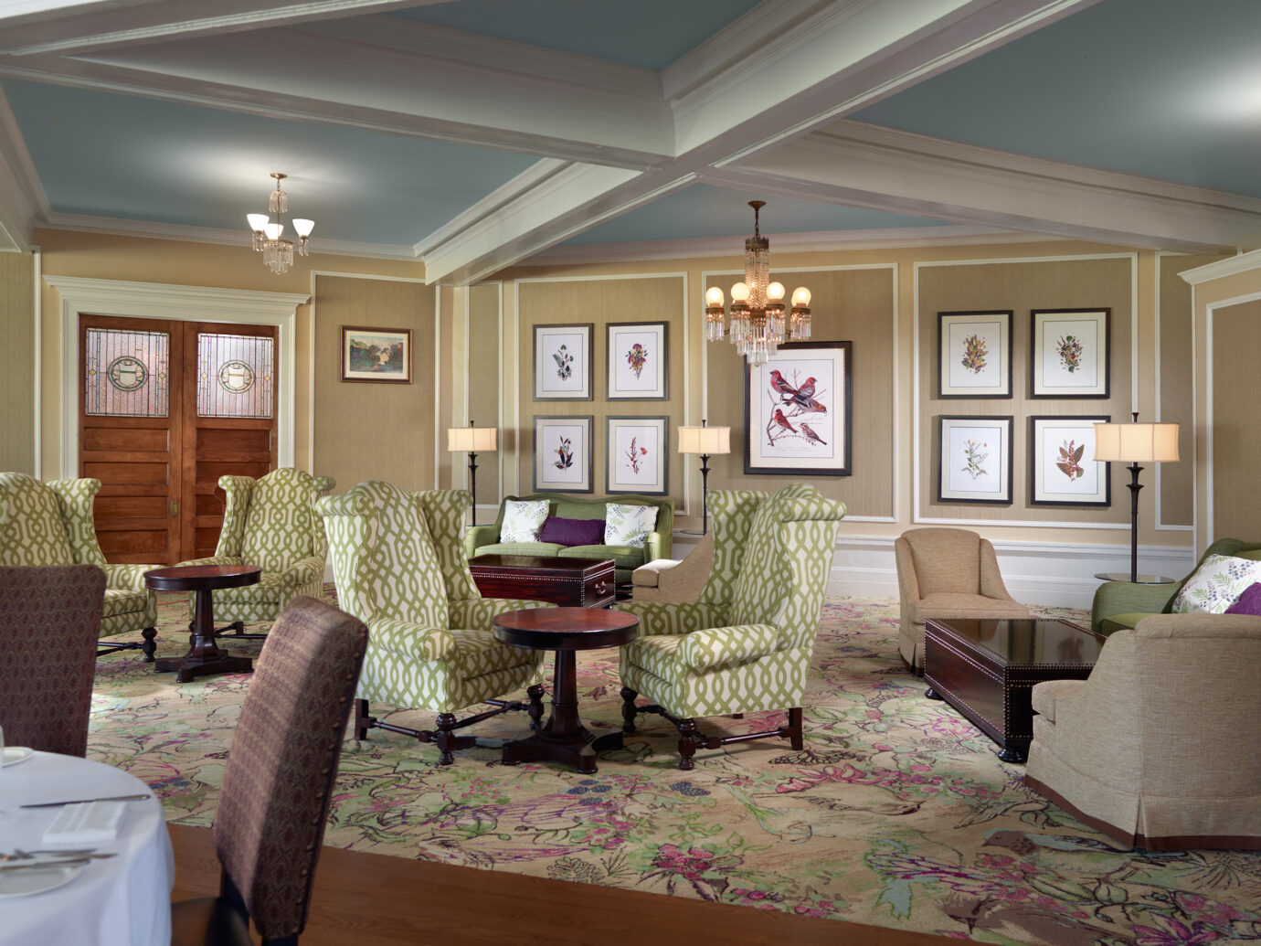 Livingroom at Omni Mount Washington Resort, Bretton Woods, NH