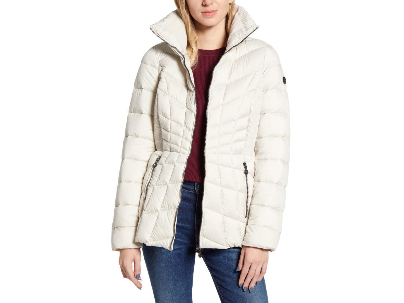 Bernardo Packable Down & EcoPlume Coat