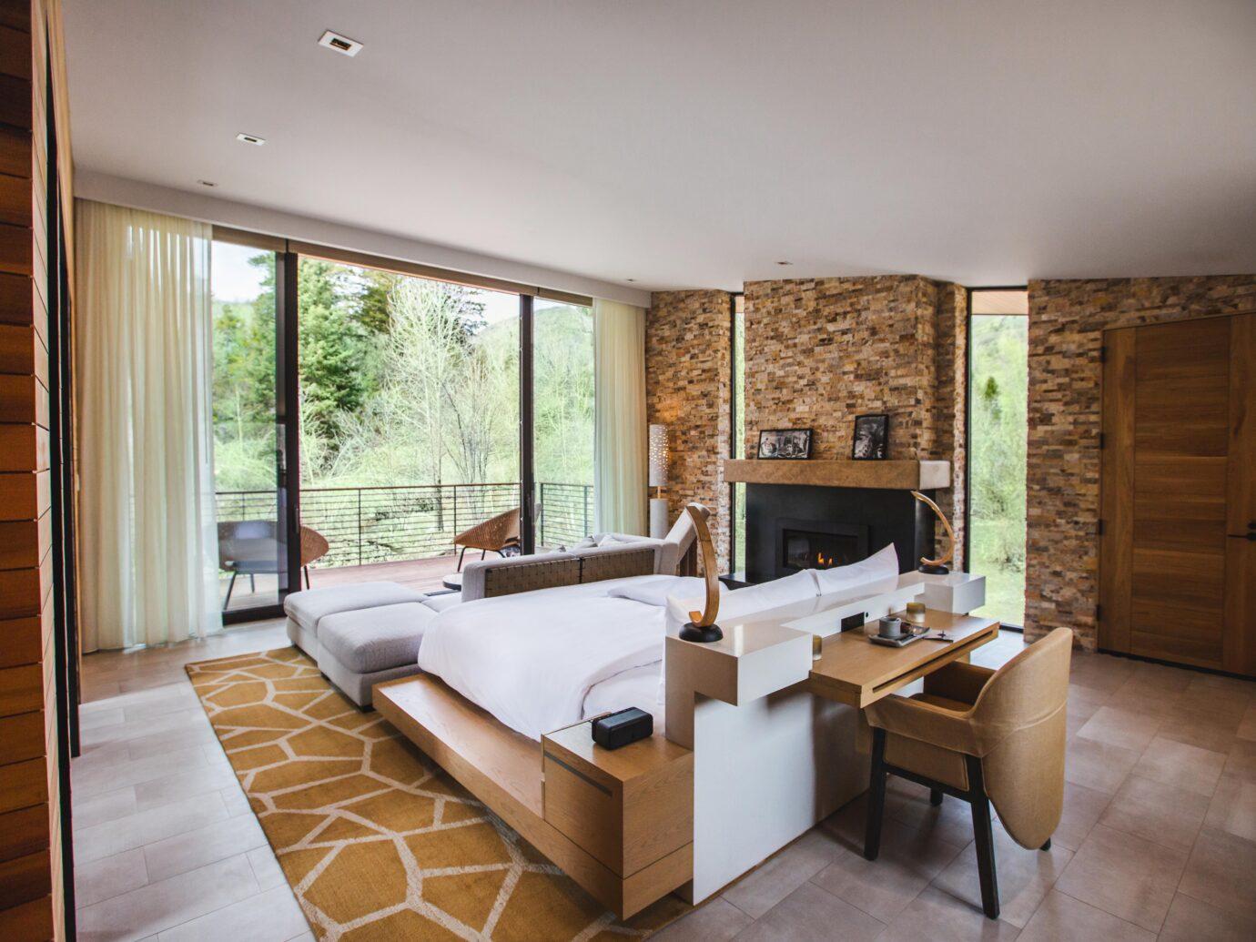 Bedroom at Lodge at Blue Sky, Utah