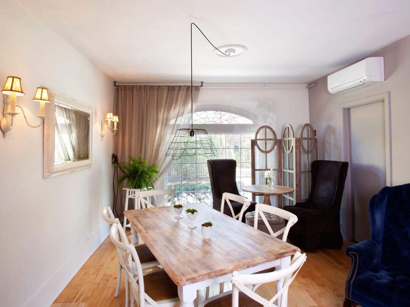Breakfast room at Salt House Inn, Provincetown, MA