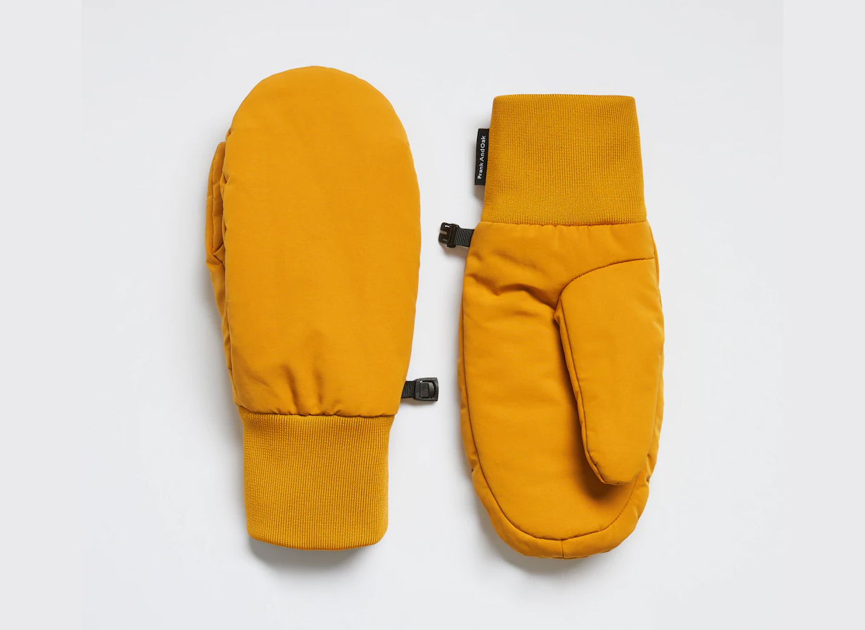 Frank And Oak Puffer Mitts