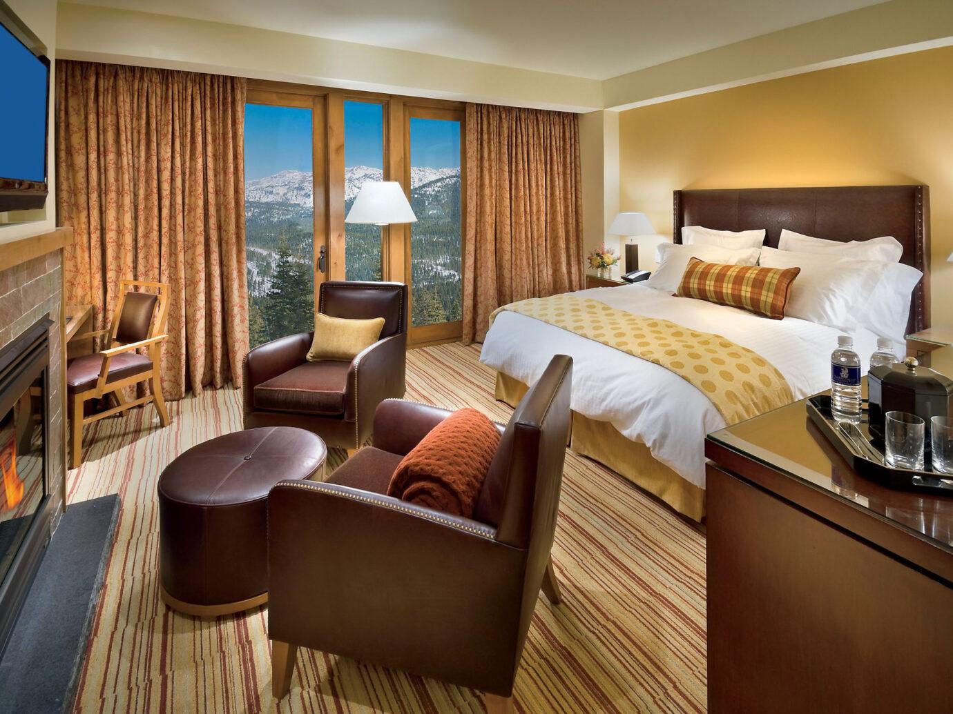 Bedroom at Ritz-Carlton Bachelor Gulch, Avon, CO