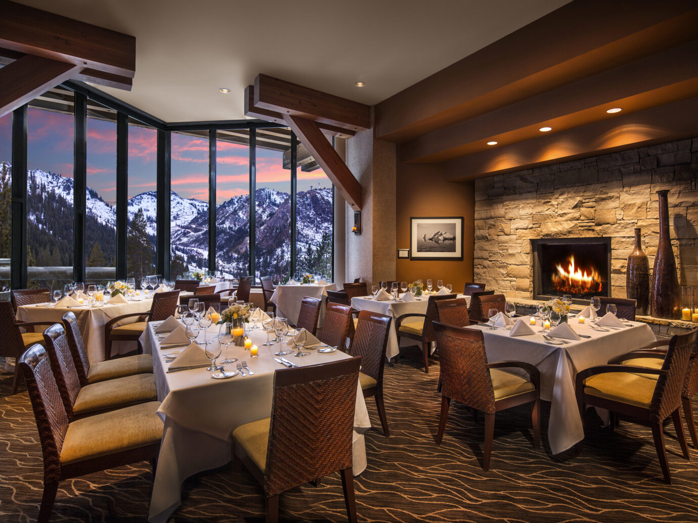 Restaurant at Resort at Squaw Creek, Olympic Valley, CA