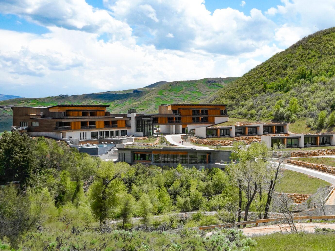 Exterior of Lodge at Blue Sky, Utah