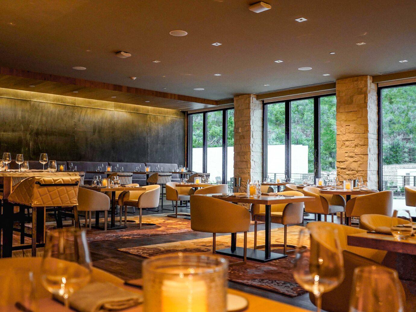 Restaurant at Lodge at Blue Sky, Utah