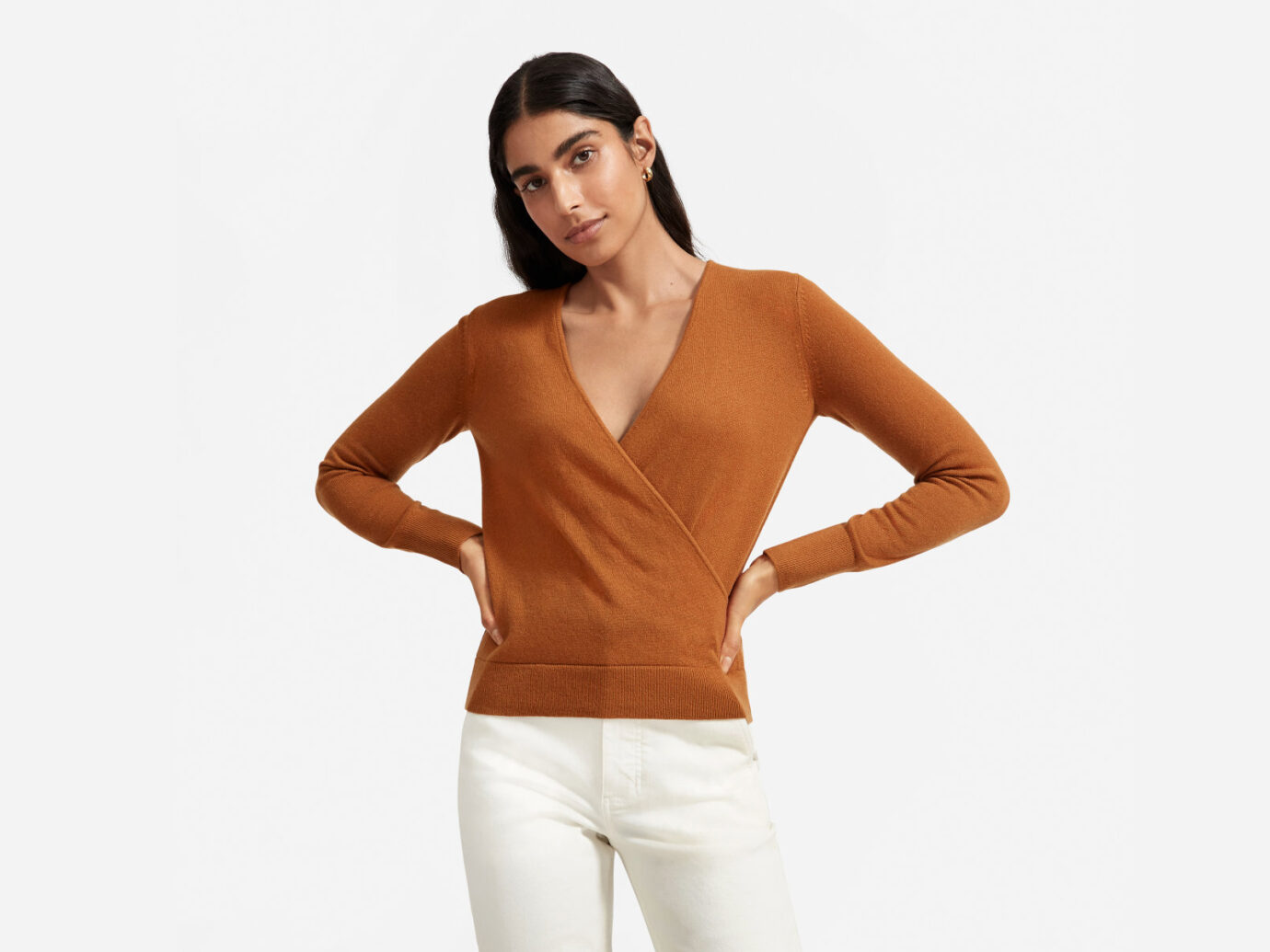 Everlane Women's Cashmere Wrap Sweater