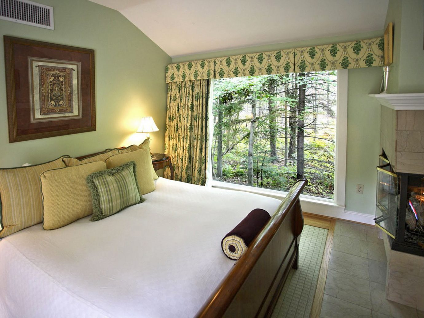 Bedroom at The White Barn Inn and Spa