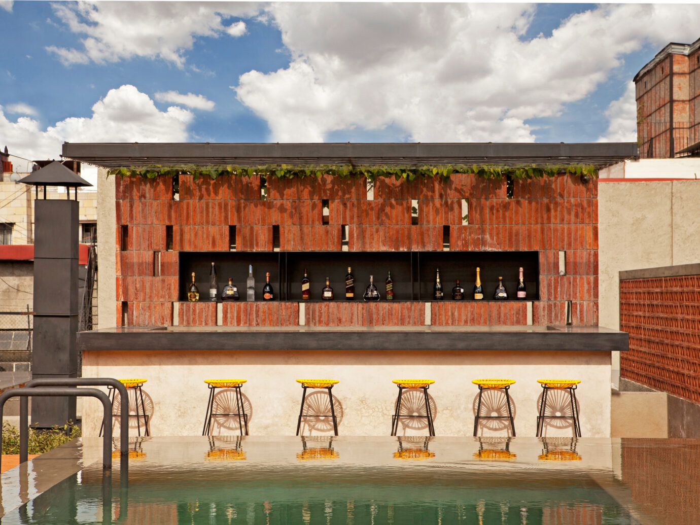 Rooftop Bar at Condesa DF, Mexico City