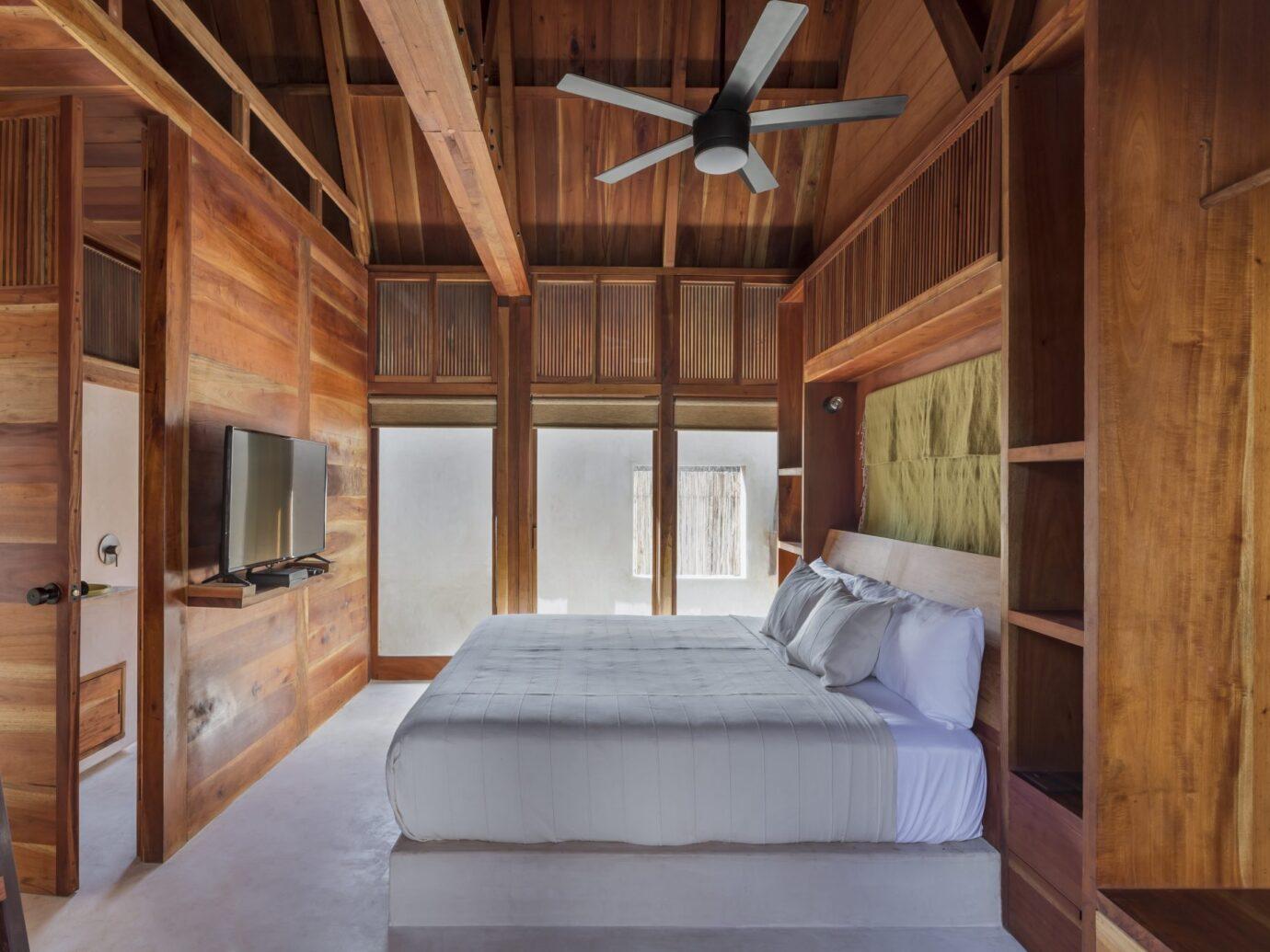 Bedroom at Punta Caliza, Isla Holbox