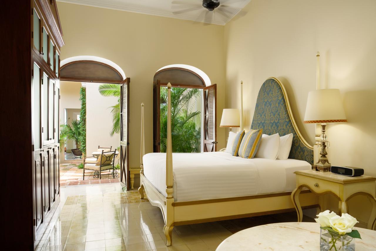 Bedroom at Casa Lecanda, Merida