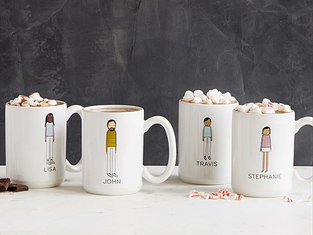 Shelly Klein Personalized Family Mugs