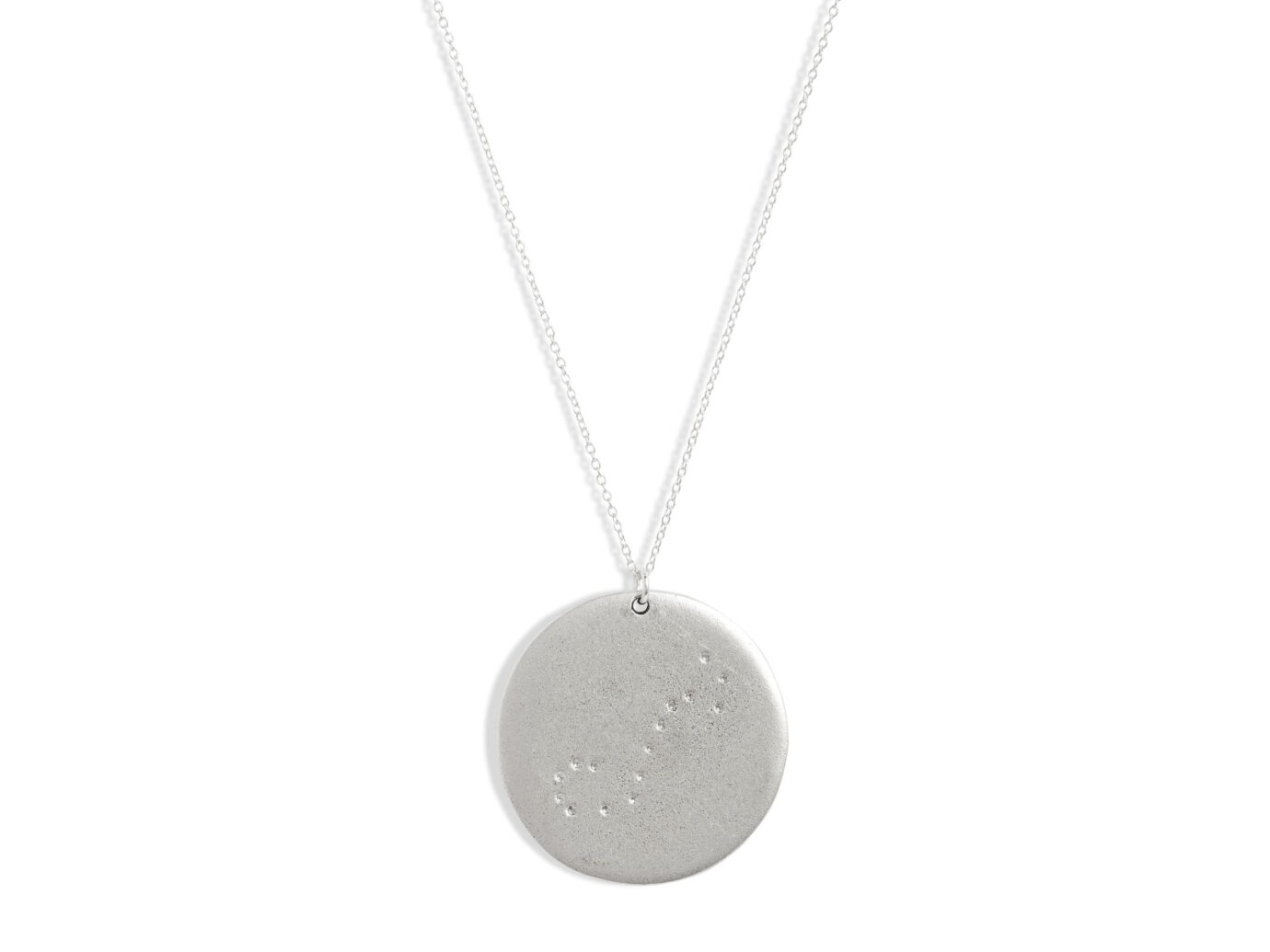 Set & Stones Zodiac Constellation Pendant Necklace