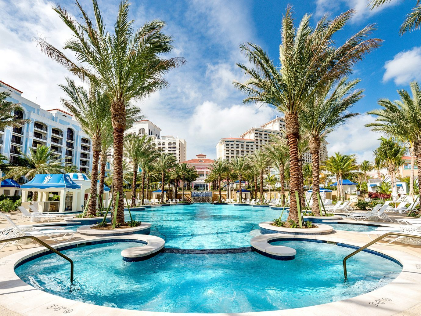 Pool view at Grand Hyatt Baha Mar