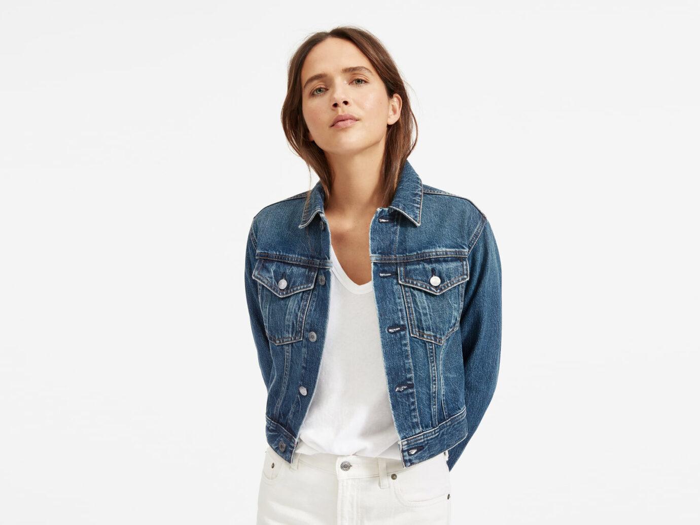 The Cropped Denim Jacket