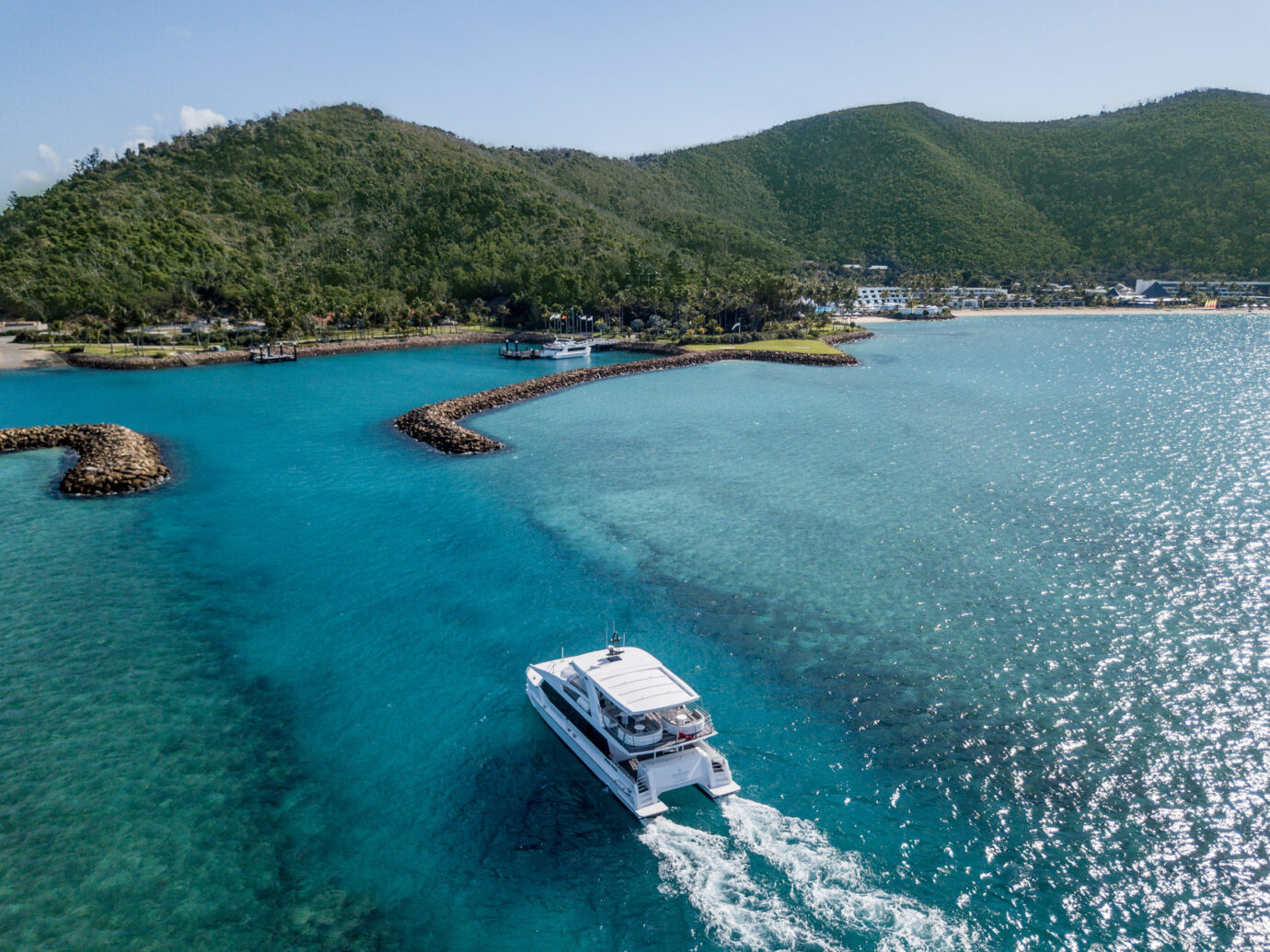 Boat transfer to Hayman Island