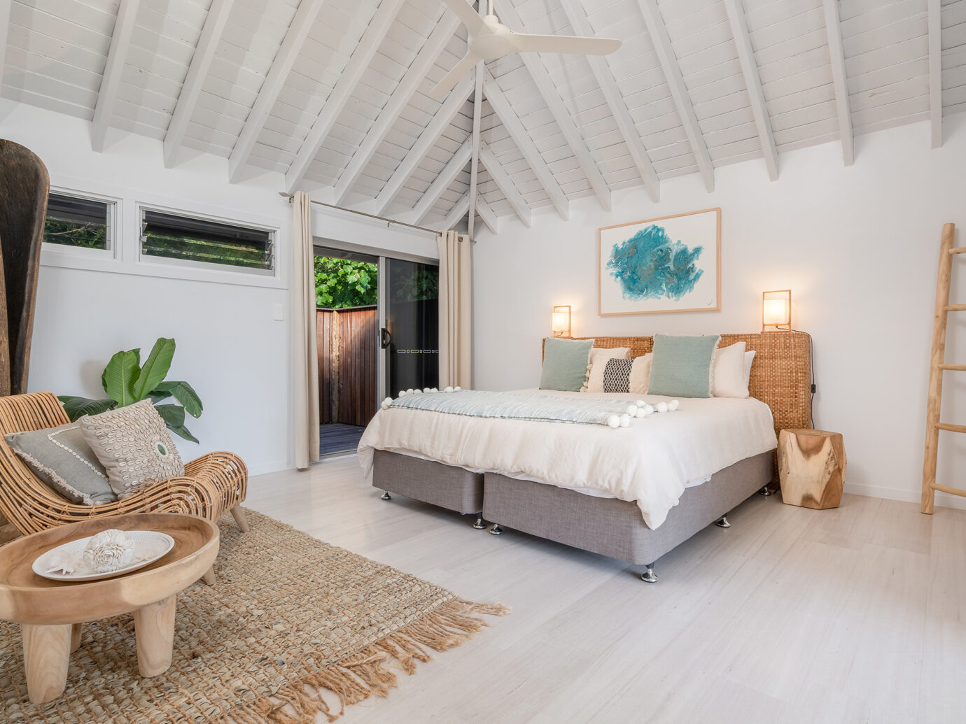 Bedroom at Elysian Retreat