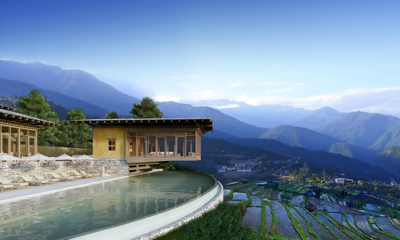 Six Senses Bhutan Pool