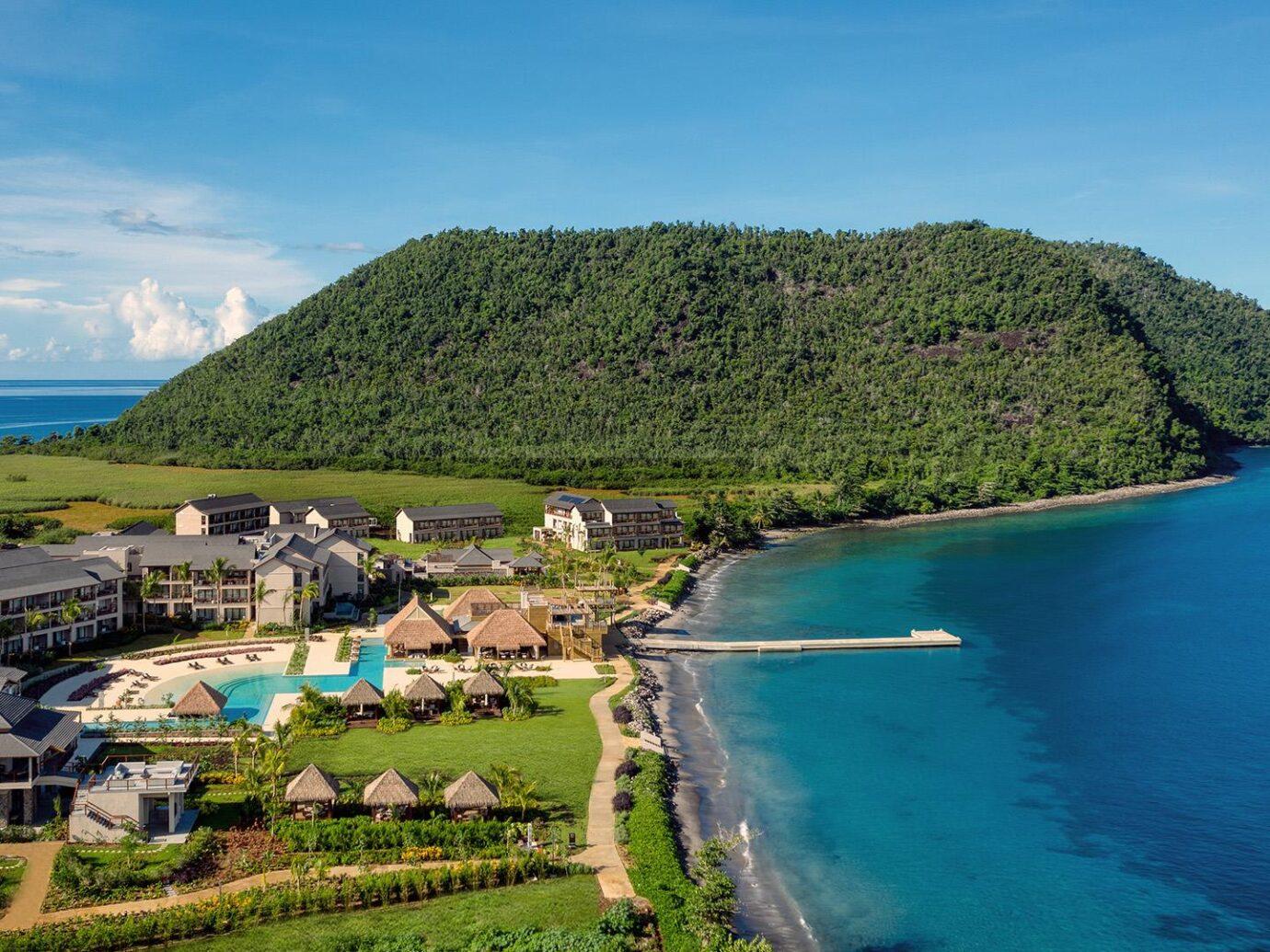 Aerial view of Cabrits Resort & Spa Kempinski