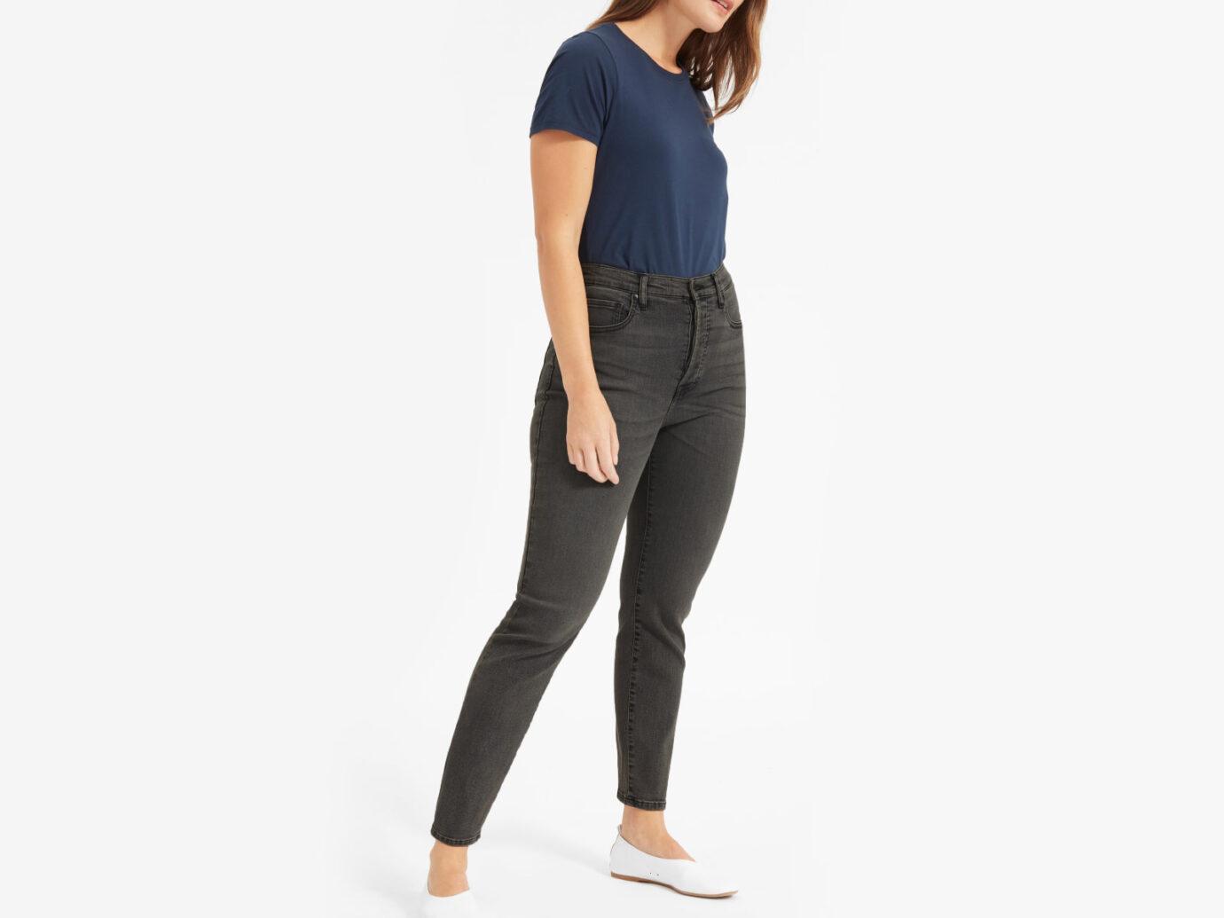 The Authentic Stretch High-Rise Cigarette Jean