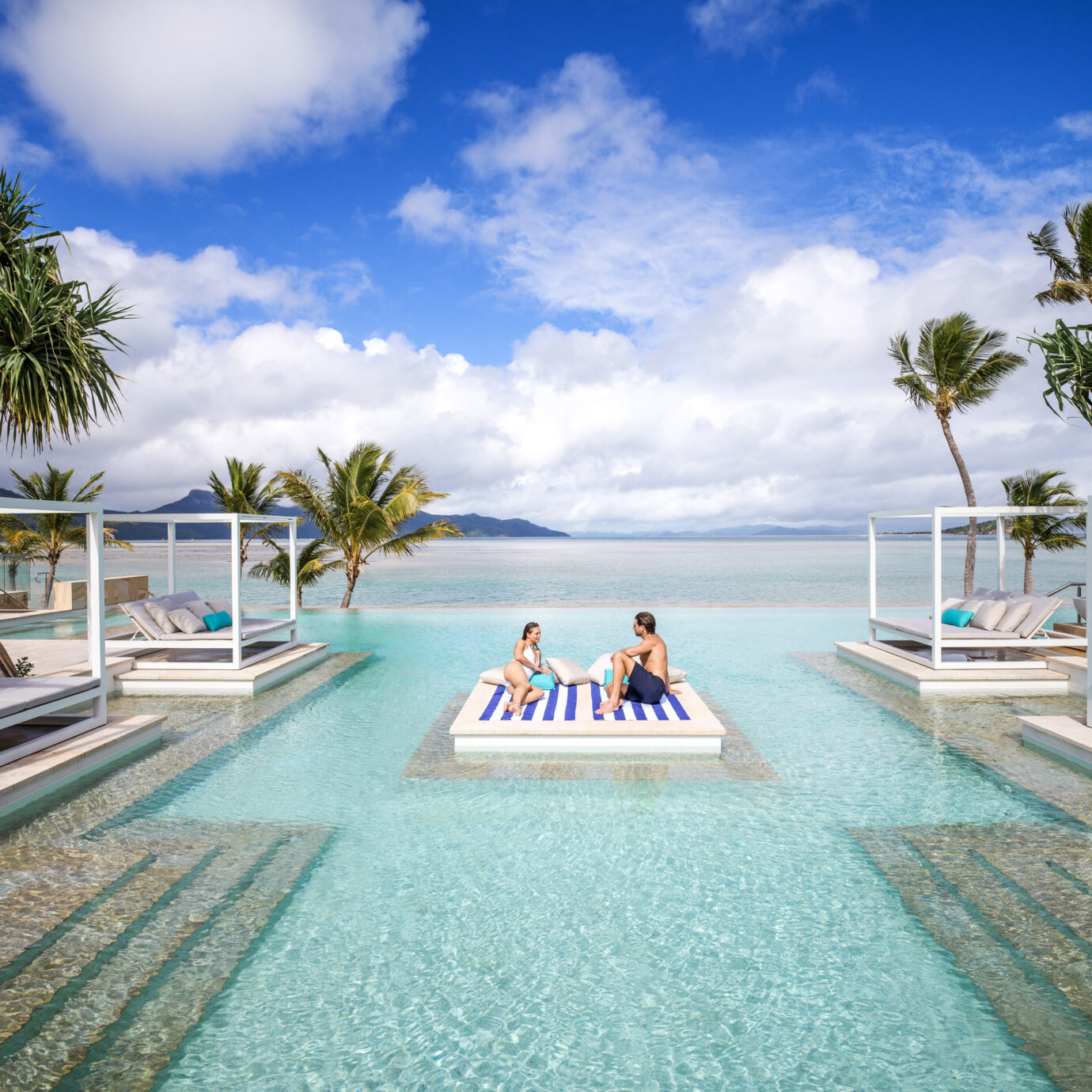 Pool at Hayman Island Resort