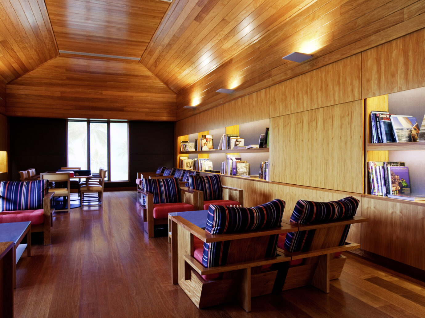 Library at Qualia beach House