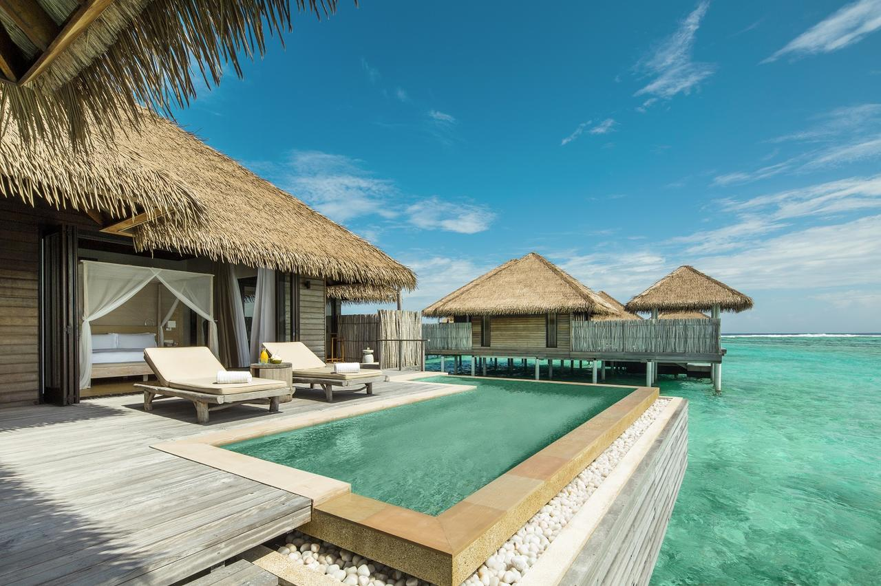 Private pool at COMO Maalifushi